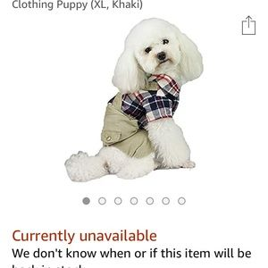 NEVER USED🐾Absolutely Adorable small Doggy Outfit